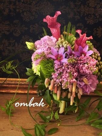 活け込みの花